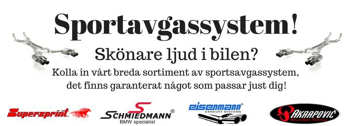 Sportavgassystem Startsidan