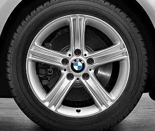 Originale BMW vinterhjul til spot pris