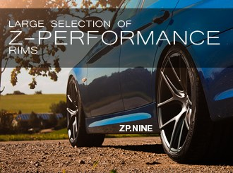 Large selection of Z-Performance rims