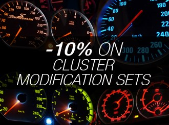 Save 10% cluster modification sets!