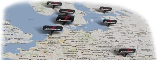 Map Deparments 3D 2012