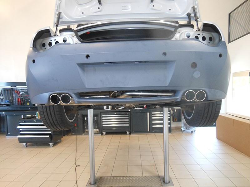 Schmiedmann - BMW Z4 E85 M styling and Schmiedmann 4 pipe ...