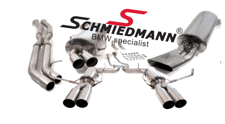 Schmiedmann sport rear silencers