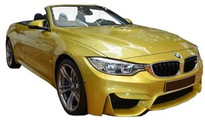 BMW F83 M4 Front