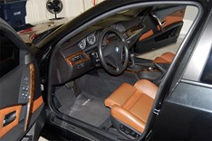 BMW E61 Brown Leather Interior02