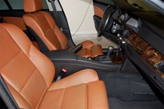 BMW E61 Brown Leather Interior07