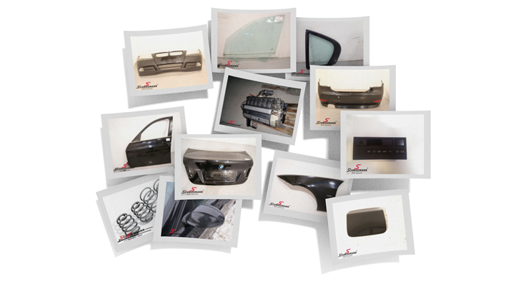 Bmw Recycle Spare Parts Picture Collage 2014