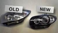 BMW E87 Angle Eyes Headlight 01