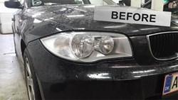 BMW E87 Angle Eyes Headlight 02