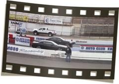 BMW M5 1 4 MILE 11 07 Burger Motorsport Video