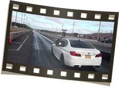 BMW M5 1 4 MILE 10 95 131 Burger Motorsport Video