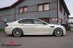 BMW F10 M5 Schmiedmann Exhaust Kw Sleeve Coilovers01