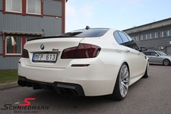 BMW F10 M5 Schmiedmann Exhaust Kw Sleeve Coilovers02