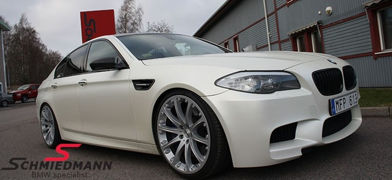 BMW F10 M5 Schmiedmann Exhaust Kw Sleeve Coilovers03