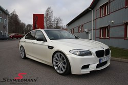 BMW F10 M5 Schmiedmann Exhaust Kw Sleeve Coilovers04