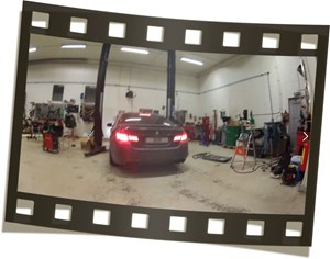 BMW F10 M5 Schmiedmann Exhaust Down Pipe Burger Motorsports