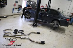 Bmw F10 M5 Schmiedmann Exhaust Downpipe X Pipe 05