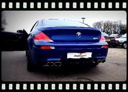 BMW M6 Videoframe