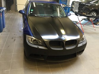BMW E90 To Facelift E90LCI Upgrade Front 01
