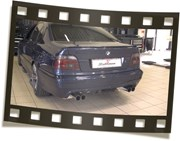 BMW E39 540I Eisenmann Video