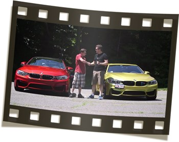 Burger Tuning Dtock M4 Vs Tuned M4 Video