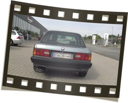 BMW E30 Simons Exhaust