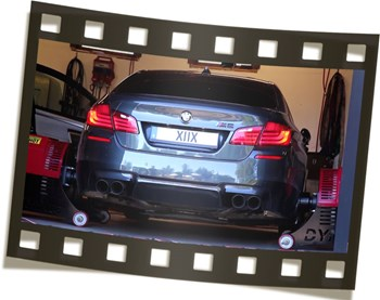 BMW F10 M5 Schmiedmann Sweden Dyno Video
