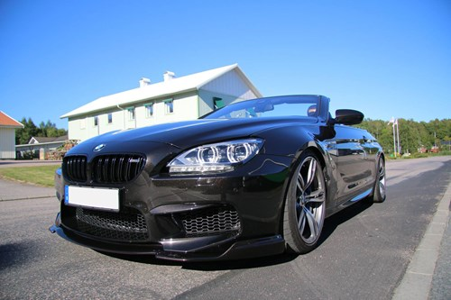 BMW F12 M6 Burgertuning Box Stage 1 Akrapovic