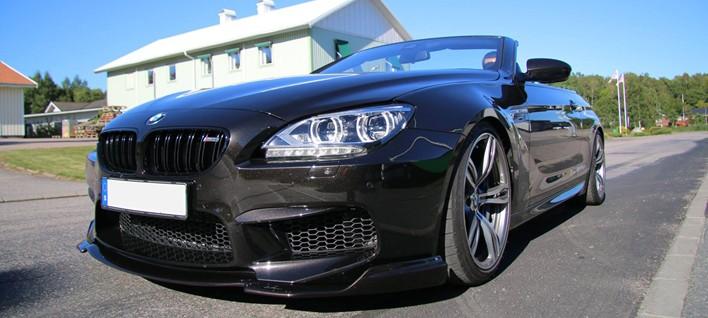 BMW F12 M6 Burgertuning Box Stage 1 Akrapovic