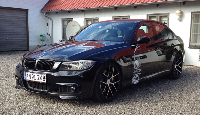 BMW E90 335I Outside Front 2