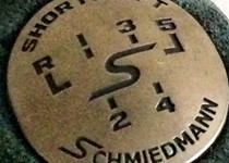 Schmiedmann Gear Emblem Shortshift