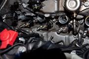 BMW F10 550I Engine S63 Repair06