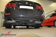 BMW F10 550I Blackexhaust Before06