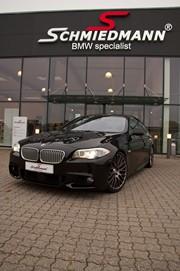 BMW F10 550I Black After Supersprint M Styling23