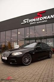 BMW F10 550I Black After Supersprint M Styling28