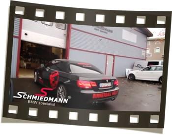 BMW 335I E93 N55 Supersprint AFE Burger JB4 Video