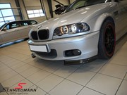 BMW E46 330CI Light Upgrade Carbon Grill Lips 11