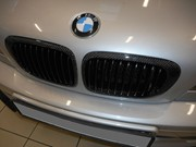 BMW E46 330CI Light Upgrade Carbon Grill Lips 13