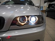 BMW E46 330CI Light Upgrade Carbon Grill Lips 14