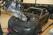 BMW E82 135I Engine Out 07