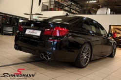BMW F10 550I Black After Supersprint M Styling22