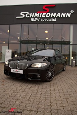 BMW F10 550I Black After Supersprint M Styling23