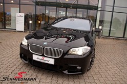 BMW F10 550I Black After Supersprint M Styling24