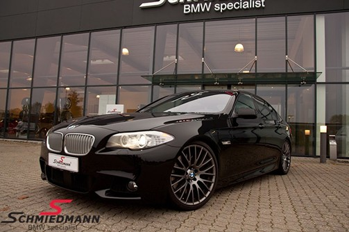 BMW F10 550I Black After Supersprint M Styling27