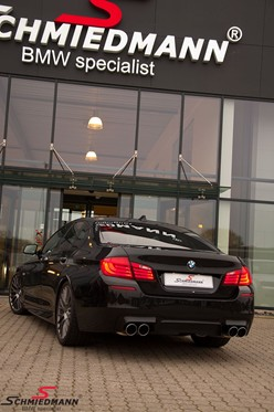 BMW F10 550I Black After Supersprint M Styling29