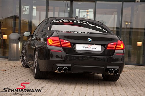 BMW F10 550I Black After Supersprint M Styling30