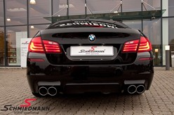 BMW F10 550I Black After Supersprint M Styling31