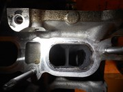 BMW E82 135I Inlet Before Cleaning