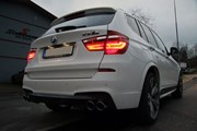 BMW X3 F25 Supersprint 4 Pipe Exhaust05