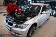 BMW E91 Engine Change 08